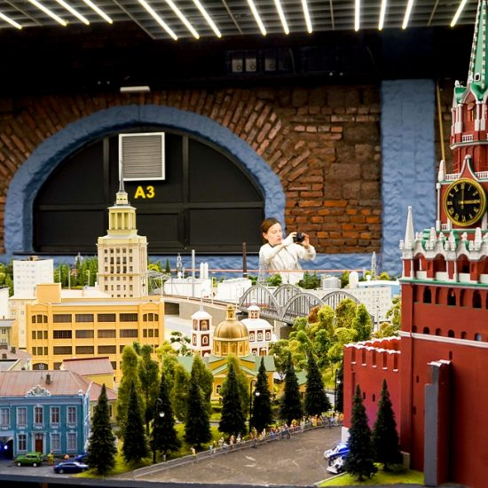 Grand Maket Russia Interactive Museum City View