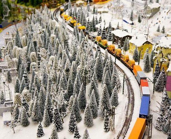 Grand Maket Russia Interactive Museum Rail Track