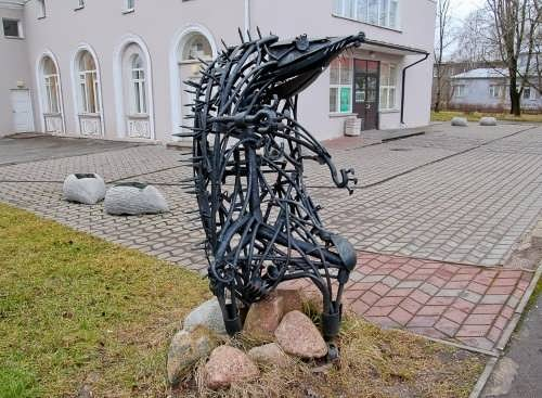 Hedgehog Monument Kiev