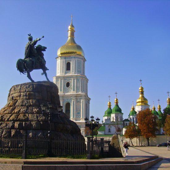 Hetman Bohdan Khmelnitsky Monument Kiev