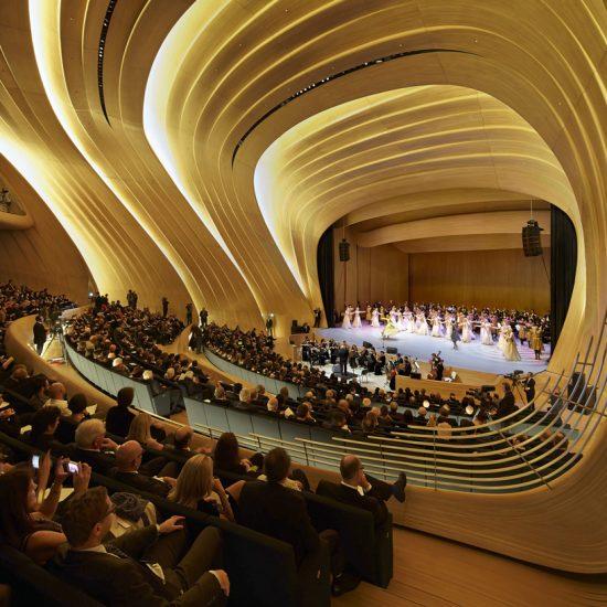 Heydar Aliyev Cultural Center Hall