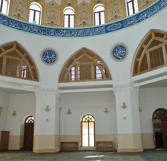 Heydar Mosque Inside View