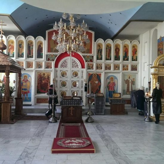 Holy Resurrection Cathedral Inside