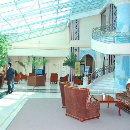Hotel City Palace Tashkent Reception Area