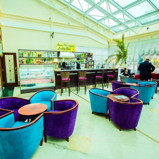 Hotel City Palace Tashkent Lobby