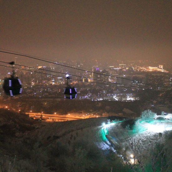 Kok Tobe Almaty - Night View
