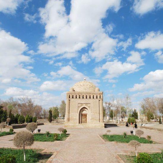 Ismail Samanid Mausoleum front View
