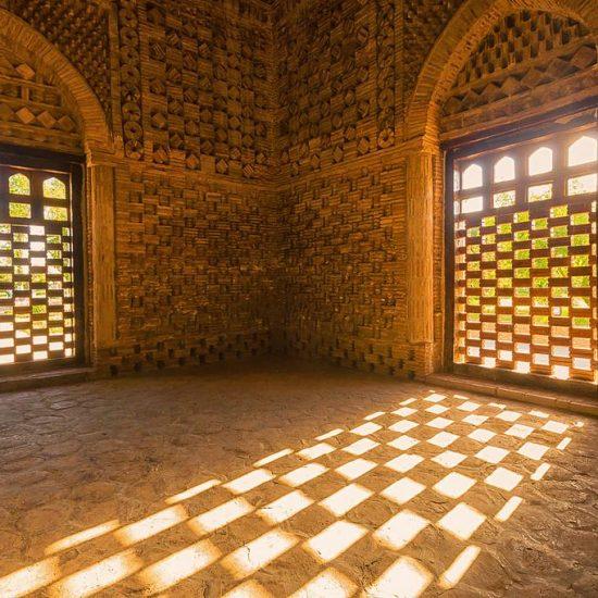 Ismail Samanid Mausoleum Windows