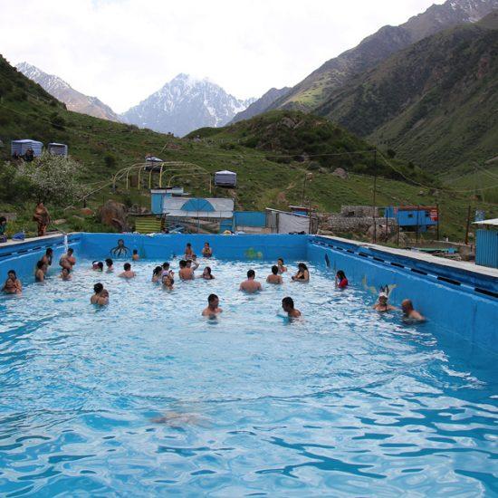 Issyk-Ata Gorge Pool