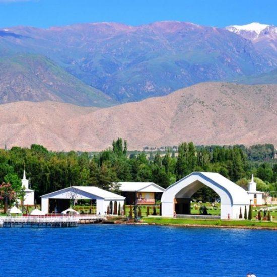 Issyk-Kul Lake City side