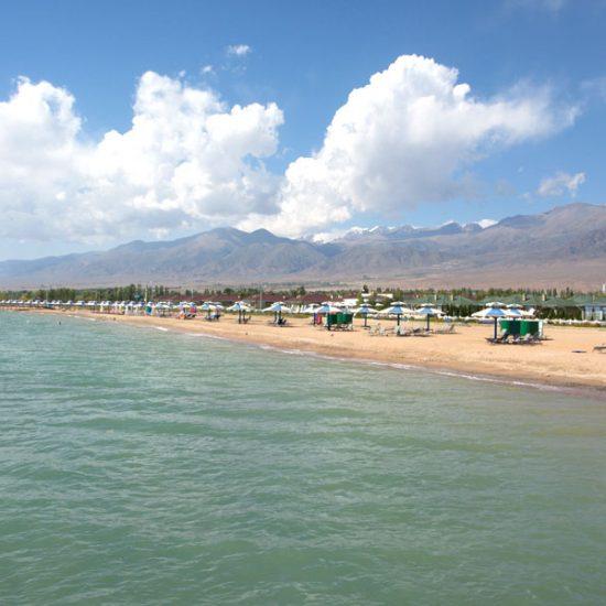 Issyk-Kul Lake Beach