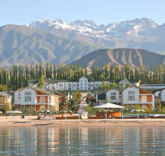 Issyk-Kul Lake City View