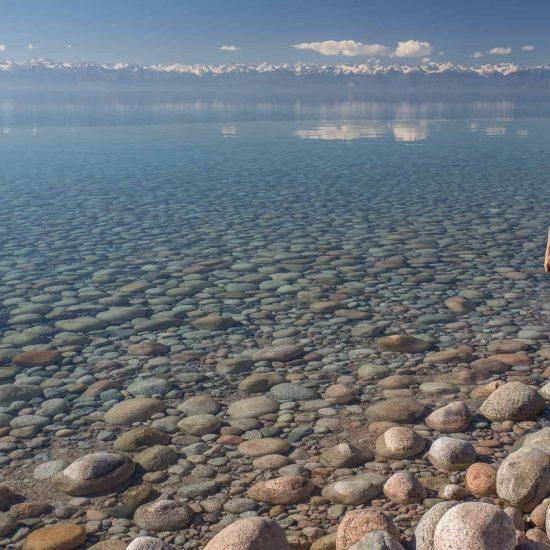 Issyk-Kul Lake Clean Water