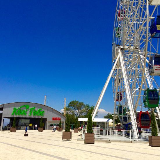 Kok Tobe Hill Ferris Wheel - Winter