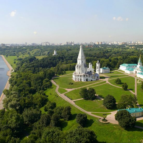Kolomenskoye Historical and Architectural Museum and Reserve Full View