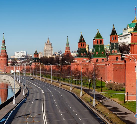 Kremlin Walls & Towers Moscow