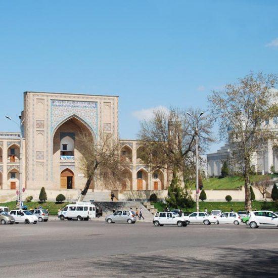 Kukeldash Madrasah front View
