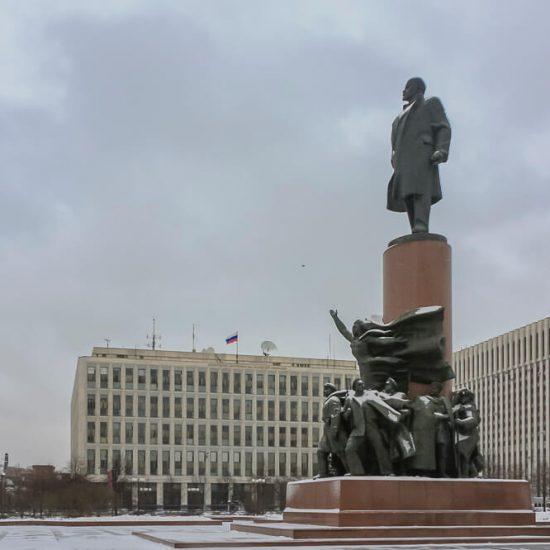 Lenin Monument Osh