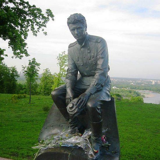 Leonid Bykov Monument Kiev