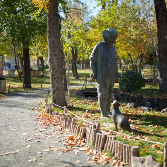 Lovers' Park Yerevan Statue