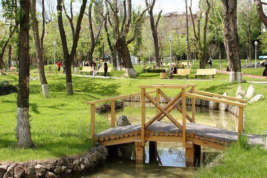 Lovers' Park Yerevan Bridge