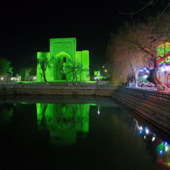 Lyab-i-Hauz Night View