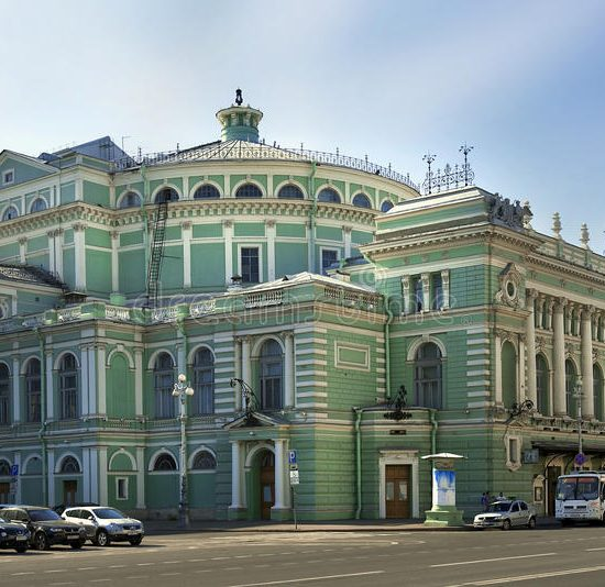 Mariinsky Theatre Concert Hall Road View