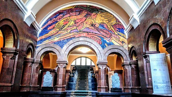Matenadaran - The Museum of Ancient Manuscripts Inside