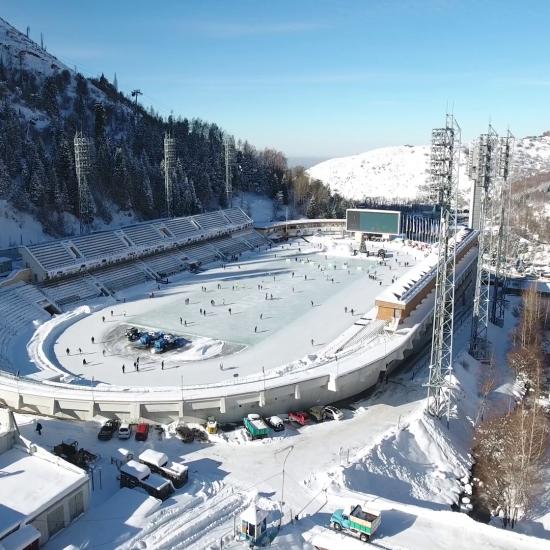 Medeo Ice Rink Almaty