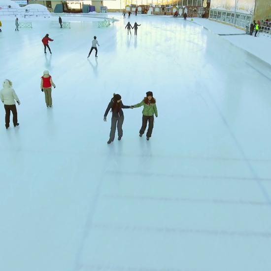Medeo Ice Skating Almaty