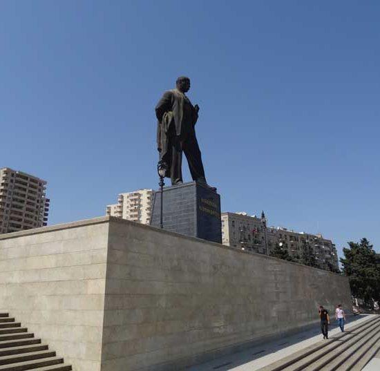Monument to Nariman Narimanov