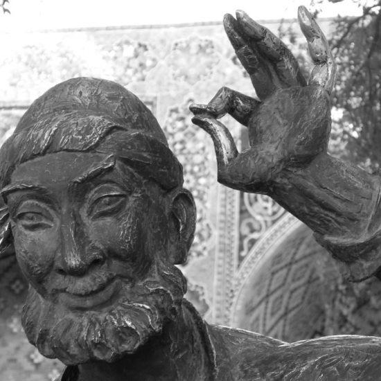 Monument to Hodja Nasreddin Closer View