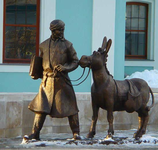 Monument to Hodja Nasreddin