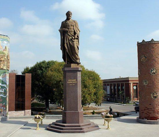 Monument to Nizami Ganjavi