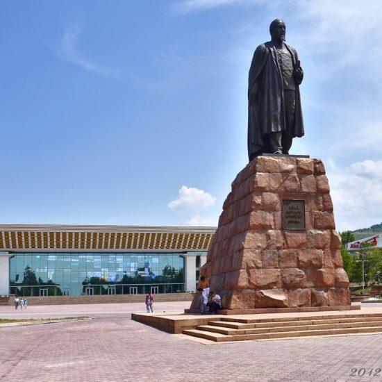 Monument to Zhambyl Zhabayev