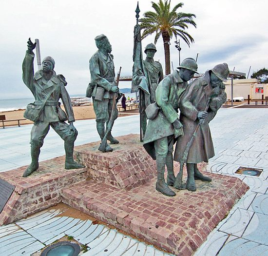 Monument to the Soldiers of World War II