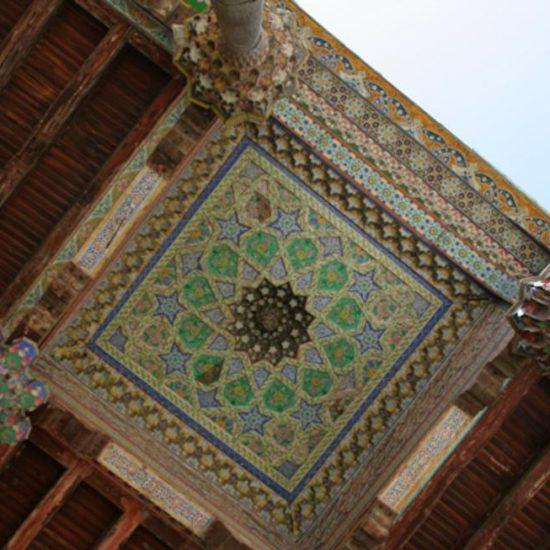 Moschea Bolo-khauz Roof View