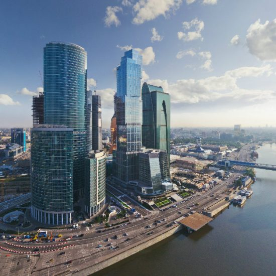 Moscow City Rive View