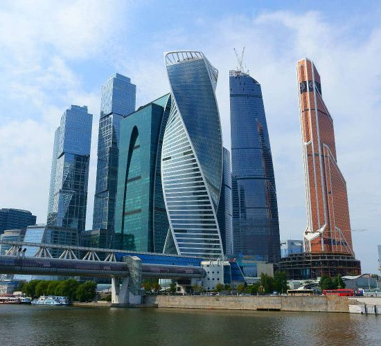 Moscow City Towers View