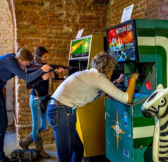 Museum of Soviet Arcade Machine