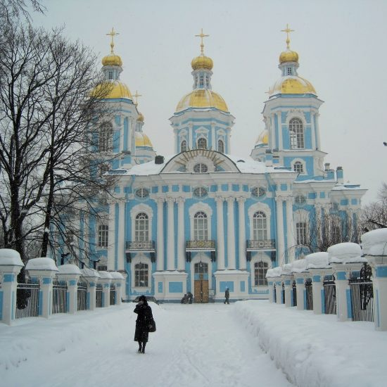 Nicholas Naval Cathedral of The Epiphany Winters View