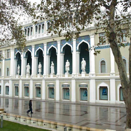 Nizami Museum of Literature - front View
