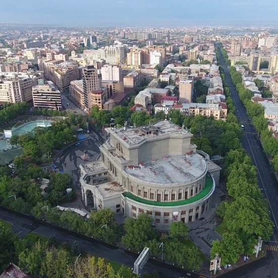 Yerevan Opera Theater full View