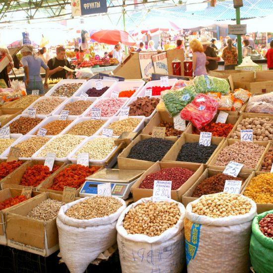 Osh Bazaar Shops