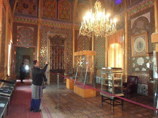 Palace of Moon-like Stars Inside