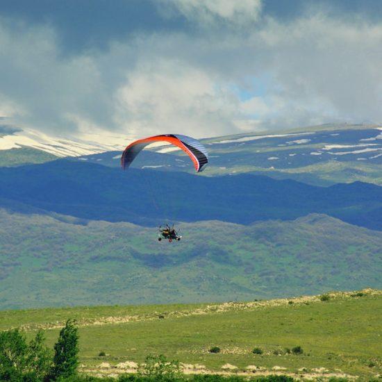 Paragliding full View Yerevan