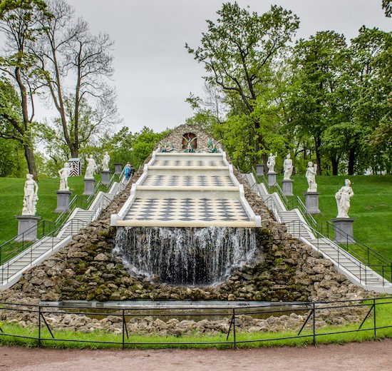 Park And Gardens of Peterhof - Fountainentrance