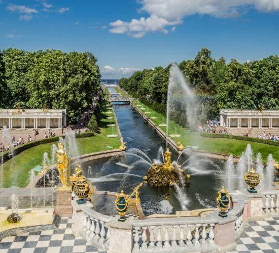 Park And Gardens of Peterhof - Fountain