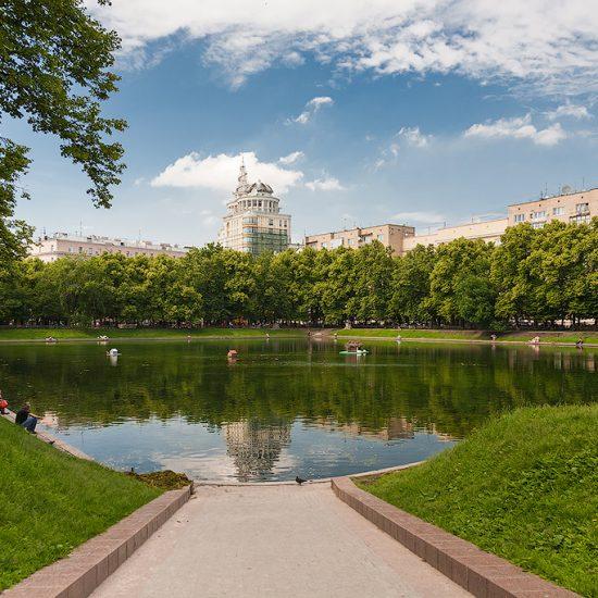 Patriarch Ponds Moscow
