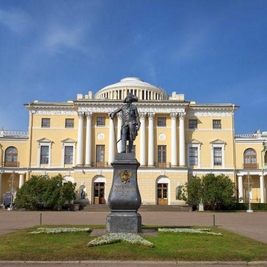Pavlovsk Palace and Park - Statue